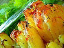 Frytki inaczej - z piekarnika Obrane ziemniaki ponacinać pionowo w paski jak ...