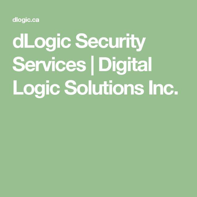 dLogic Security Services | Digital Logic Solutions Inc.