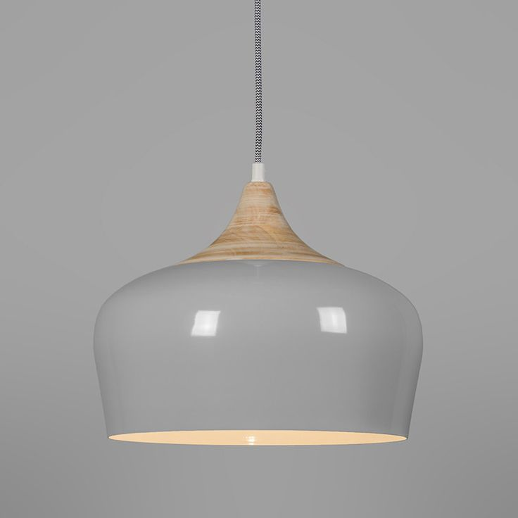 Pendant Lamp Pine Grey