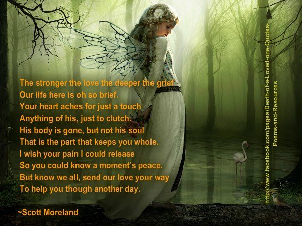 poetry+about+grieving | Mother Grieving Loss of Child - http://mothergrievinglossofchild ...