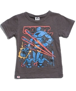 Graphic tee for boys! This looks great under sweaters and button up shirts such as flannels!