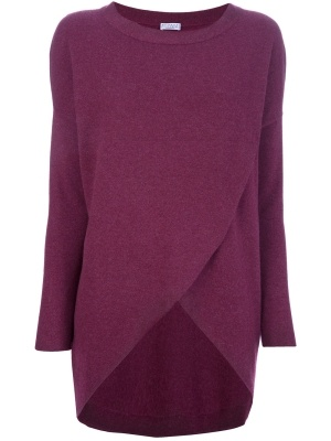 BRUNELLO CUCINELLI - wrap effect sweater