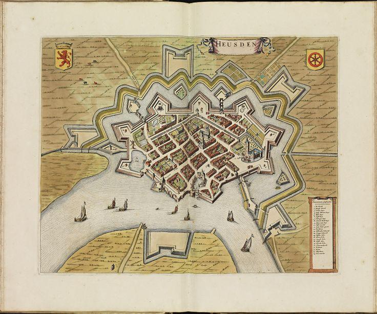 HEUSDEN. Atlas De Wit.