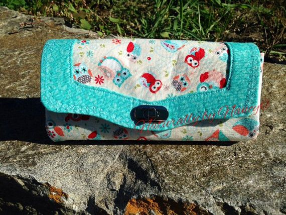Necessary Clutch Wallet with cute little owls