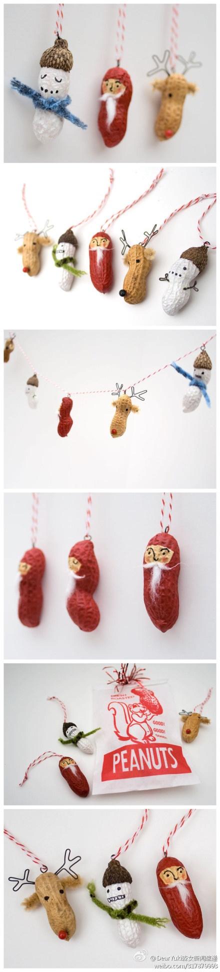 ...more peanut ornament inspiration