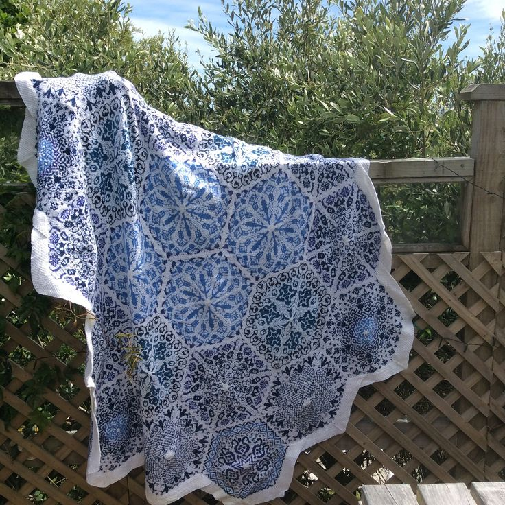 Ravelry: Project Gallery for Persian Dreams pattern by Jenise Reid