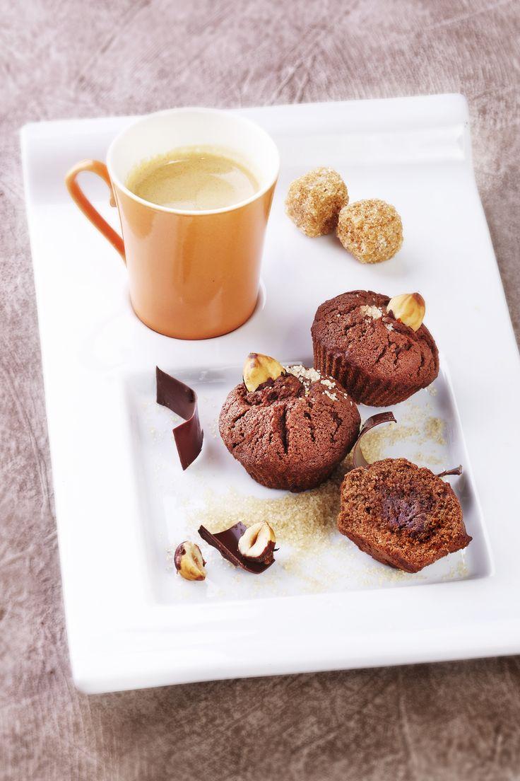 Numéro 12 : Mini Moelleux au chocolat et à la noisette ©S'Cuiz in par Gwen Rassemusse