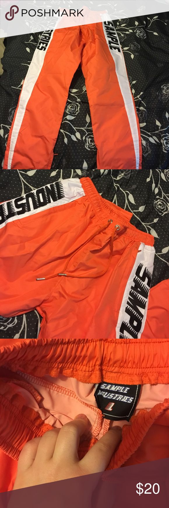 Rain pants These are brand new purchased from online the size says large but it's a European large so these would fit a small/XS H&M Pants Track Pants & Joggers
