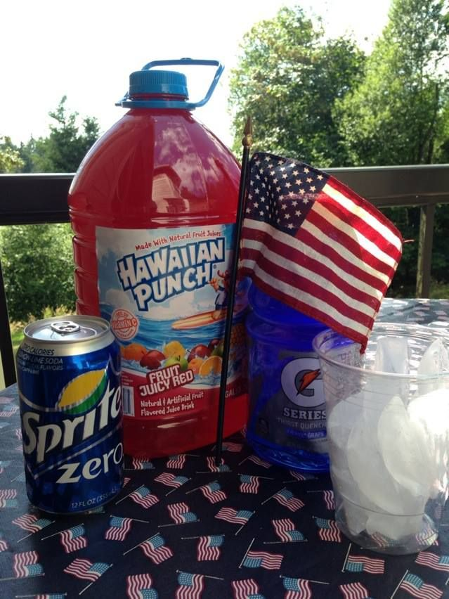 fourth of july drinking accessories
