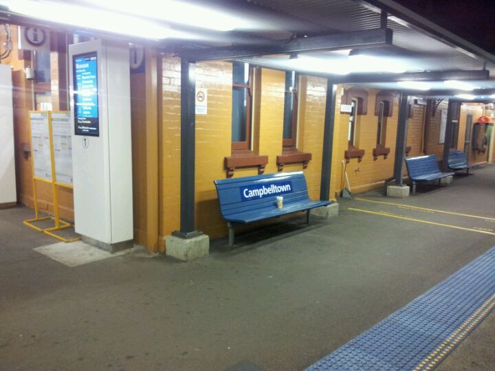 Campbelltown Station (Concourse) in Campbelltown, NSW