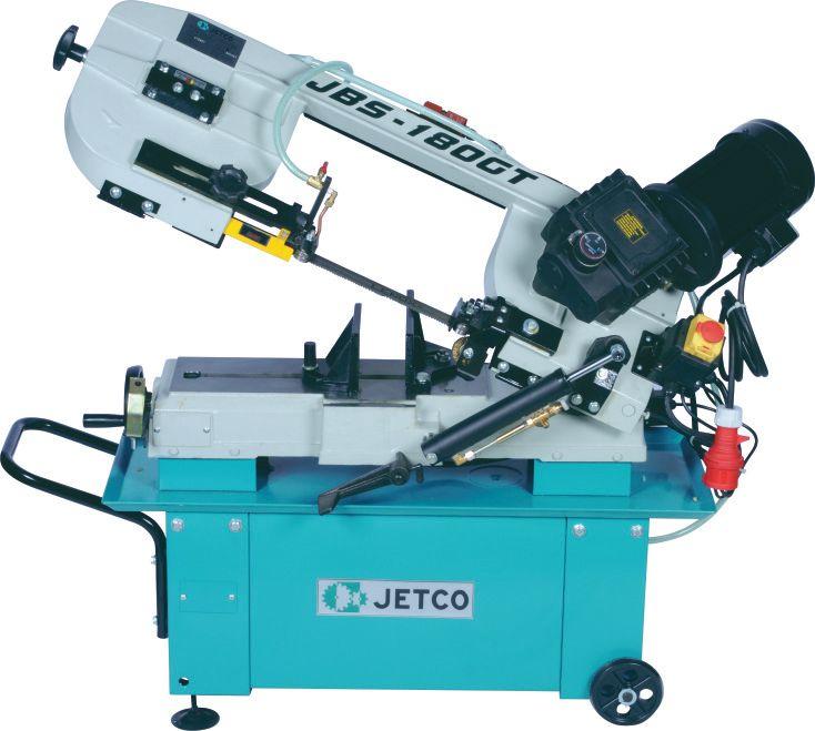 Jetco JBS-180GT Metal Şerit Testere (Şanzımanlı-Trifaze)