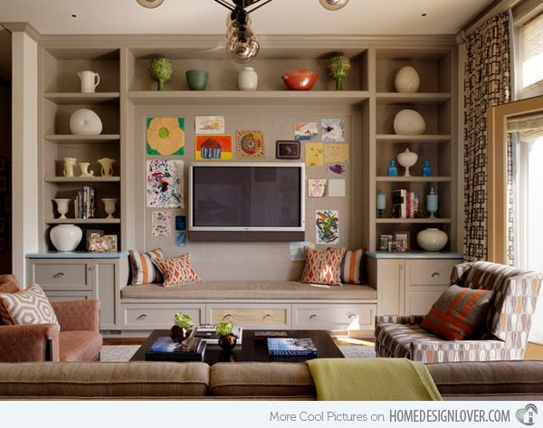 15 modern day living room tv ideas living room tv for Bharatiya baithak designs living room