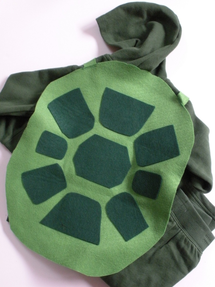 Turtle costume for little mermaid jr