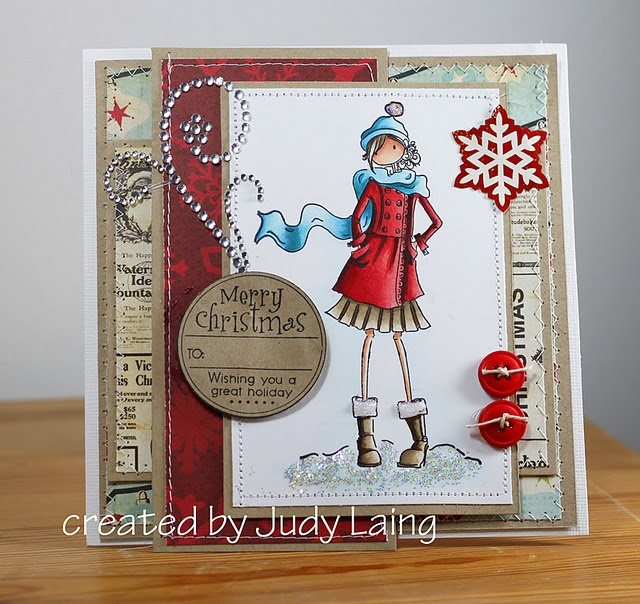 Stamping Ideas For Card Making Part - 21: Quixotic Inspirations: Stamping Bella - Quinn In Her Boots