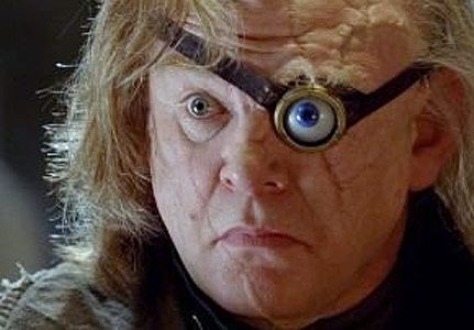 Mad Eye Moody A Good Close Up Showing His Scarred Face As