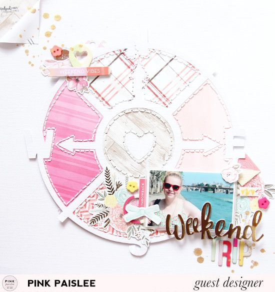 Laureen Wagener is our Travel week guest designer and you are going to love what she created!
