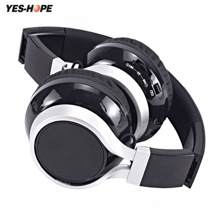Best price US $15.58  YES-HOPE Wireless Headphones Bluetooth Headset Stereo foldable Sport Earphone Microphone Gaming Cordless Auriculares Audifonos  Search here: Xiaomi