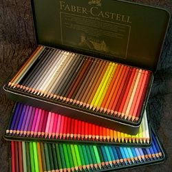 Colored Pencils | home markers pens pencils charcoal etc colored pencils permanent faber ...
