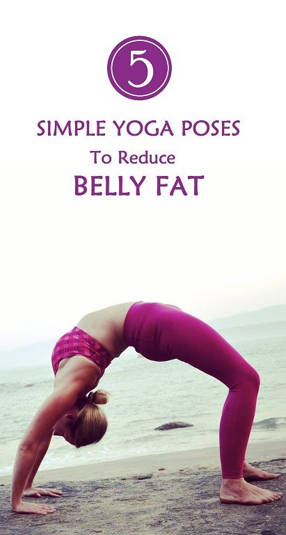 5 Simple Yoga Poses to Reduce BellyFat