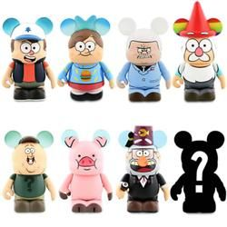 Bill Gravity Falls Vinylmation | Dipper, Mabel, Gideon, Gnome, Soos, Waddles, Stan, and Mystery Figure