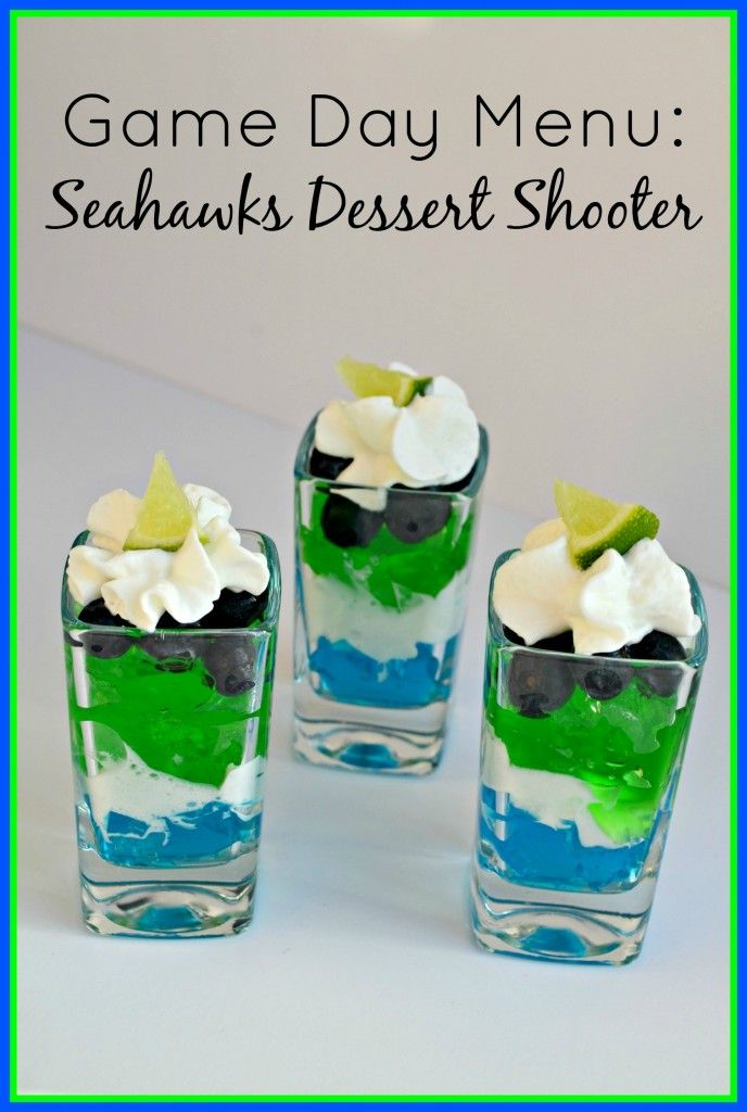 Game Day Menu: Seahawks Dessert Shooter   The Coupon Project