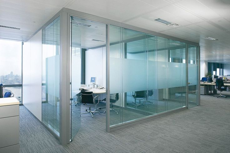 Glass Wall Panels Let in Natural Light