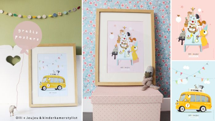 Kinderkamer Stylist : Printable Kids Room
