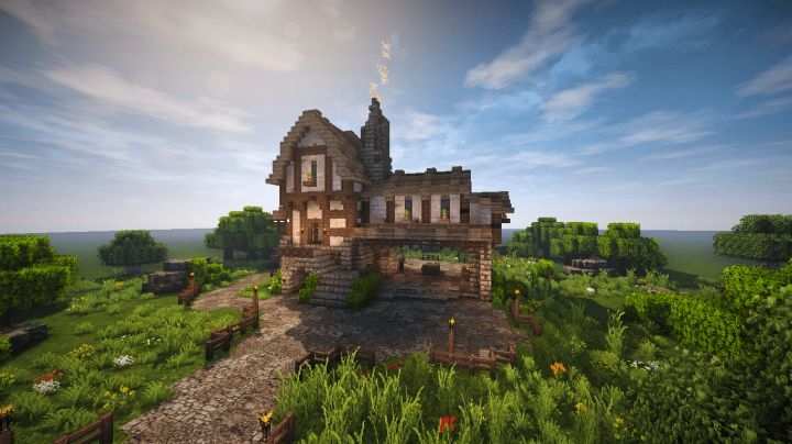 Medieval Forge #WeAreConquest (Timelapse + Download) Minecraft Project