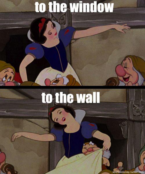 Snow White's got the moves 8) #Disney #music #humor