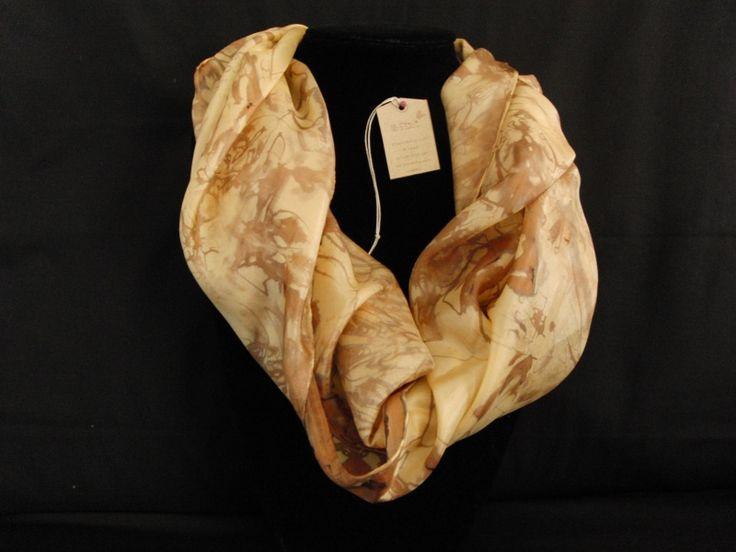 handbeschilderde zijden sjaal | zijde 1405
