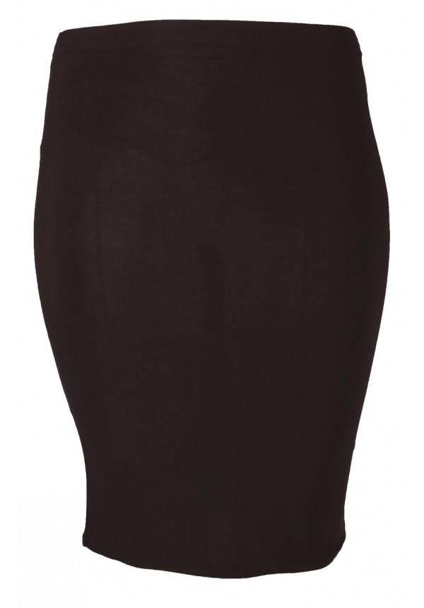 Prachtige kokerrok voor de modebewuste vrouw met een maatje meer.<br /> Onze grote maten leverancier Magna Fashion levert plus size rokken in ruime maten zoals 44 46 48 50 52 54 56 58. Deze moderne rok is verkrijgbaar bij Kay Fashion in vele maten en kleuren.
