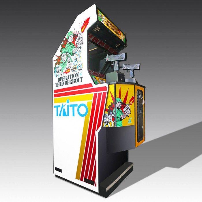 Operation Thunderbolt Arcade Machine
