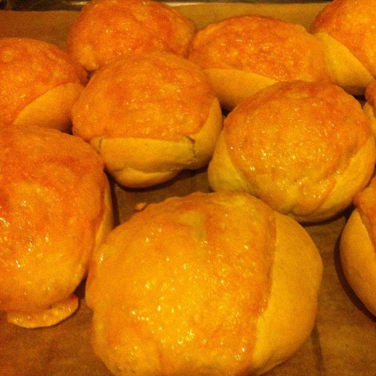 Käsebrötchen, wie vom Bäcker