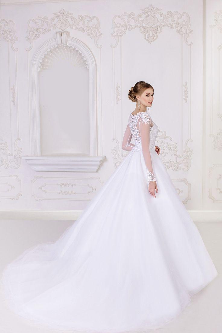 Ball Gown Tulle Wedding Dress - My Best Dress