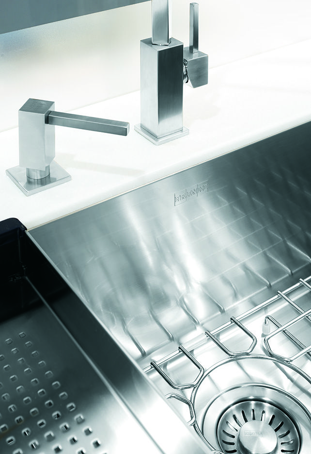 Superior quality + exceptional design = Franke stainless steel. #FrankeSinks