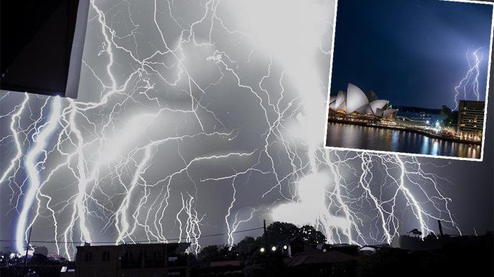 Badai Petir Australia - Tertangkap Kamera, 12 Foto Ini Mengerikan Tapi Mengagumkan!