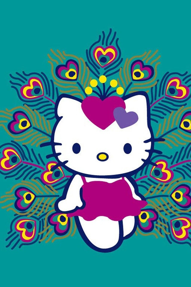 Hello Kitty (Sanrio)peacock kitty