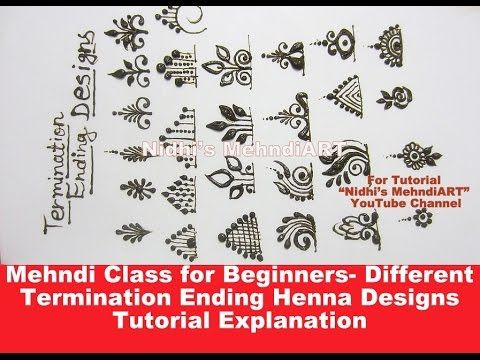 embellishment 4 : learn how to draw seeds of life design in mehendi henna - YouTube