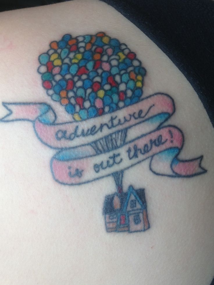 51 best pop culture tattoos images on pinterest pop for Adventure is out there tattoo
