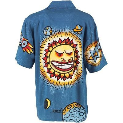 Mambo Loud Lairy Mens Shirt Hippy Large Great for Holiday Beach   eBay