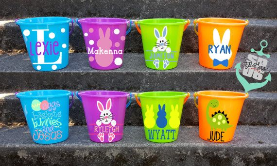 easter basket, personalized easter basket, easter bucket, diy easter basket,easter basket for boys,easter basket for girls,egg hunts