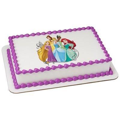 Princess Dream Big Cake #Flynn #Belle #Cinderella #Tiana #Merida #Princess #Birthday #Cake #Girl #Disney