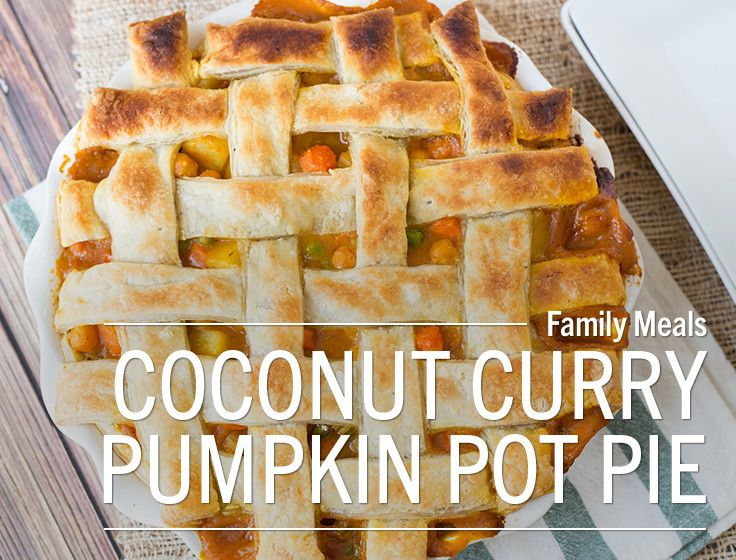 Pumpkin Pot Pie. Fall comfort food, perfect for meat and veggie lovers ...