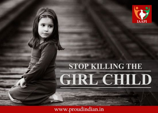 Female foeticide is leading to a number of problems such as shortage of girls for marriage, increased polyandry, trafficking, ill health of women etc. Women also have the right to live and live happily. Stop killing the girl child. #stopfemalefoeticide #trafficking