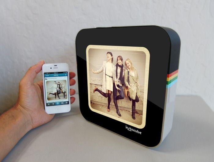 Instacube : le cadre numérique pour Instagram