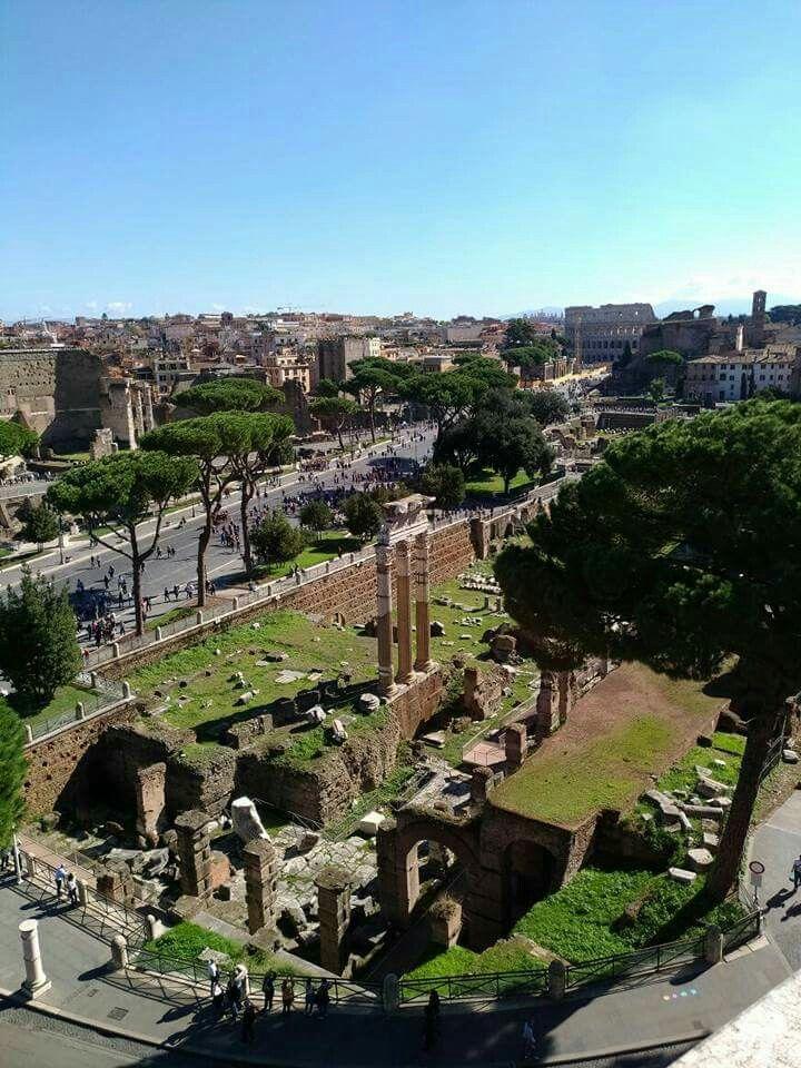 Fori Imperiali, Roma, Italia
