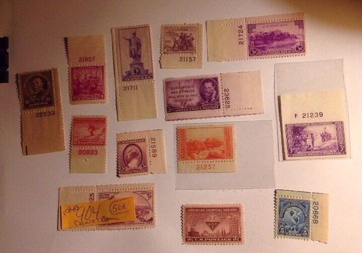 Lot Of 13 UnUsed/MNH - US Stamps Lot #716 | eBay | A Stamp