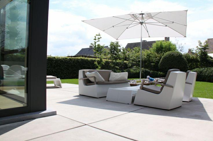Terrassen - Deregro - Grond- tuin en afbraakwerken, aanleg opritten en parkings