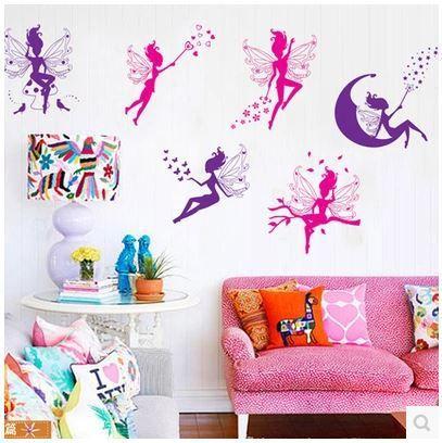 Bricolage 3d stickers muraux pour enfants b b chambre de for Stickers habitacion nina