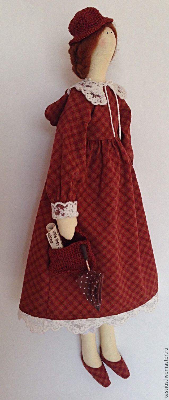 Купить Мэри Поппинс (Интерьерная кукла ангел тильда ) - разноцветный, кукла в подарок